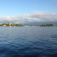 Photo taken at St. Lawrence River by Christin B. on 6/17/2013