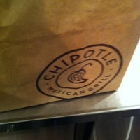 Photo taken at Chipotle Mexican Grill by Brock M. on 4/20/2012
