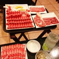 Photo taken at Aria Korean BBQ by Michelle S. on 3/14/2013