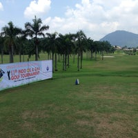 Photo taken at Sentul Highlands Golf Club by Jacob Hope H. on 3/12/2016
