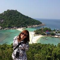 Photo taken at Koh Nang Yuan Dive Resort by cartoonztnz w. on 4/9/2013
