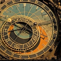 Photo taken at Prague Astronomical Clock by GowithOh on 2/21/2013