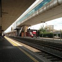 Photo taken at Roma Ostiense Railway Station (IRR) by Maria Erlange H. on 6/28/2013