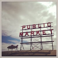Photo taken at Pike Place Fish Market by Sand L. on 5/29/2013