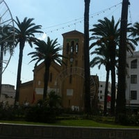 Photo taken at Eglise Ntra Sra de las Victorias by Mona N. on 9/3/2013