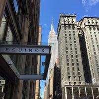 Photo taken at Equinox Park Avenue by Kai B. on 4/4/2015