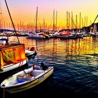 Photo taken at Milta Bodrum Marina by Efe K. on 9/24/2013