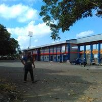 Photo taken at Stadion Wijayakusuma Cilacap by Dias P. on 8/14/2016