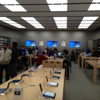 Photo taken at Apple Store, 4th Street by Chris G. on 11/8/2012