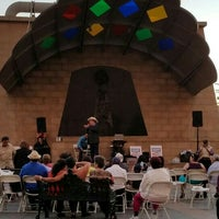 Photo taken at Mariachi Plaza by Marco C. on 7/23/2016