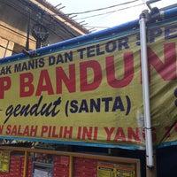 Photo taken at Martabak Manis Gendut Ps. Santa by agus p. on 7/23/2016