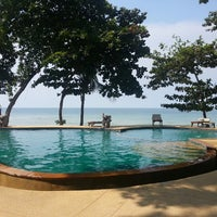 Photo taken at Siam Beach Resort Koh Chang by Andrei Y. on 3/2/2013