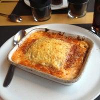 Photo taken at La Pasta Gansa by robzt on 12/13/2012