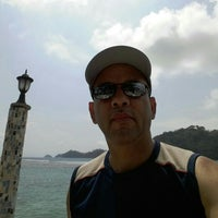 Photo taken at Isla Grande Colon by Edgar R. on 4/17/2016