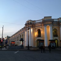 Photo taken at metro Gostiny Dvor by Елизавета Б. on 4/28/2013