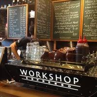 Photo taken at Workshop Espresso by akamuku on 9/2/2013