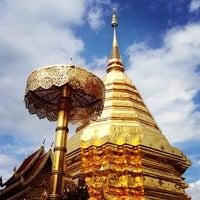 Photo taken at Wat Phrathat Doi Suthep by Supakorn K. on 5/25/2013