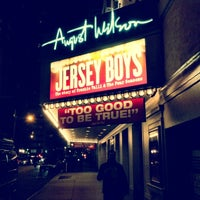 Photo taken at August Wilson Theatre by Mohammed K. on 12/6/2012