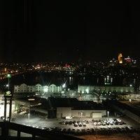 Photo taken at Radisson Hotel Cincinnati Riverfront by Dayn J. on 2/2/2013