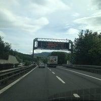 Photo taken at A1/ casello Pian del Voglio by Moky  F. on 5/31/2013