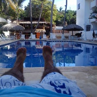 Photo taken at Olas Altas Hotel Surf by Carlos B. on 12/28/2013