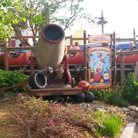 Photo taken at The Barnstormer by Stacy G. on 5/12/2013
