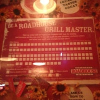 Photo taken at Roadhouse Grill by Bradley on 3/1/2013