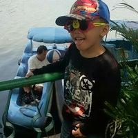 Photo taken at Setu Babakan by Just I. on 8/23/2014