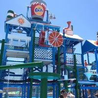 Photo taken at Fasouri Watermania Waterpark by Natali on 5/28/2013
