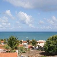 Photo taken at Praia de Pium by Victor D. on 6/12/2013