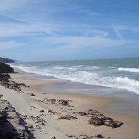 Photo taken at Praia de Pium by Victor D. on 6/10/2013