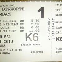 Photo taken at Lotus Five Star Cinemas (LFS) by Sree Thban K. on 11/3/2013