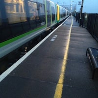 Photo taken at Cheddington Railway Station (CED) by George O. on 11/20/2012