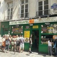 Photo taken at L'As du Fallafel by Chris C. on 7/10/2013