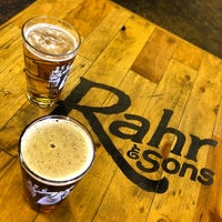 Photo taken at Rahr & Sons Brewing Co. by Christopher H. on 10/4/2014