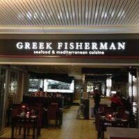 Photo taken at Greek fisherman by Cem B. on 3/16/2013