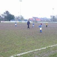 Photo taken at FC Moortsele by Ulrik ✈. on 2/16/2013