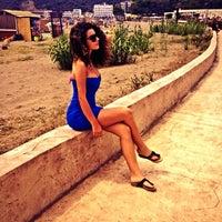 Photo taken at Beach Hotel Otrant by Zana D. on 7/19/2013
