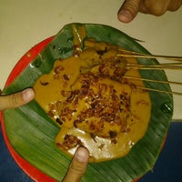 Photo taken at Sate Padang by Soenfri on 11/10/2012