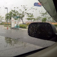 Photo taken at PETRONAS Station by Lathifa J. on 4/28/2013