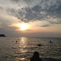 Photo taken at Teay Ngam Beach by MFonuay on 12/31/2012