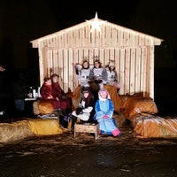 Photo taken at First Family Church by Jody on 12/24/2014