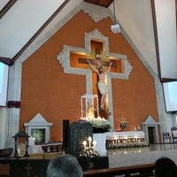 Photo taken at Gereja Katolik Redemptor Mundi by Bernard A. on 5/5/2013