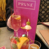 Photo taken at Prune by Julie R. on 1/26/2013