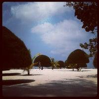 Photo taken at Malibu Beach Bungalows Koh Phangan by Nann P. on 3/28/2013