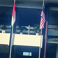 Photo taken at SMA Muhammadiyah 1 Yogyakarta by Dewa S. on 5/2/2013