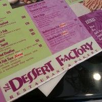 Photo taken at Dessert Factory by Pat B. on 1/12/2013