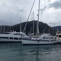 Photo taken at Marina Di Cala Galera by Ugo A. on 1/24/2014