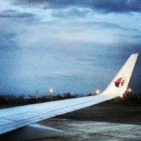 Photo taken at Sultan Ahmad Shah Airport (KUA) by aedy _. on 6/8/2013