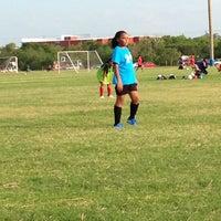 Photo taken at Alamo Sportsplex by Jennifer P. on 7/25/2014